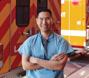 USC doctor Kenji Inaba, the LAPD's first and only chief surgeon, advises the department on medical training, health policies and treatment of injured officers. (Photo/Jake Michaels)