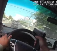 Tactical considerations for shooting while driving