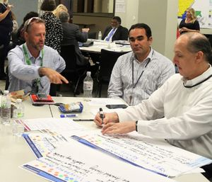 EMS leaders use the 7 C's with all modes of EMS communication. (Photo/FEMA)
