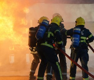 Post-traumatic stress disorder (PTSD) affects both career and volunteer firefighters. (Photo/In Public Safety)