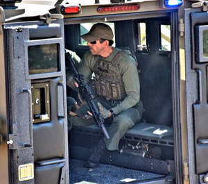 De-escalation is more than just verbal judo – it's an evidence-based practice in which officers try to avoid using force and instead focus on slowing the action down to respond more effectively. (image/Lenco Armored Vehicles)
