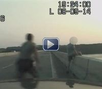Video: Md. trooper saves suicidal man seconds before jump