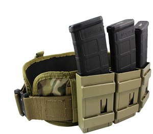 Limitless Gear's new OPFOR MC-R, a MOLLE / PALs mountable magazine pouch that uses a rapidly scalable equipment ensemble (RSEE) system. (Image Limitless Gear)