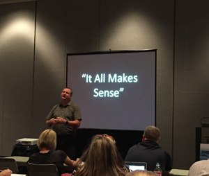 Joseph J. Mistovich teaches a course at the EMS World Expo. (Photo by Greg Friese)