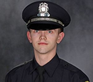 Pictured is Officer Charles Irvine Jr. (Photo/MPD)
