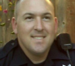 Calif  motorcycle officer killed in collision
