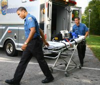 Why paramedics do not run to treat patients