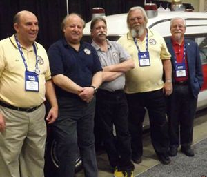 Lou Jordan (second from the right) was a 2005 recipient of the Rocco Morando Lifetime Achievement Award. (Photo/National EMS Museum)