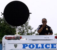 How police are using soundwave technology for crowd control