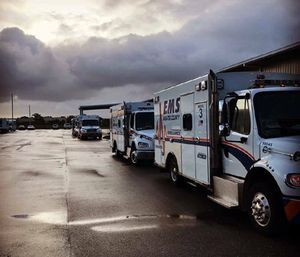 Manatee County EMS decided to decrease the number of ambulances during night time shifts after looking at data from the last few years. (Photo/MCEMS)