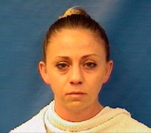 This photo provided by the Kaufman County Sheriff's Office shows Amber Renee Guyger. (Kaufman County Sheriff's Office via AP)