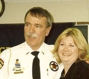 Author Dan Marcou pictured with his wife. (Photo/David J. Marcou)
