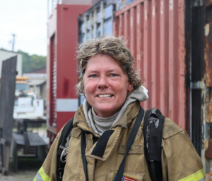 Marion County Fire Rescue Division Chief Shari Hall. (Photo/Marion County Fire Rescue)