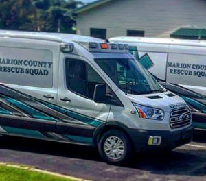 The Marion County Rescue Squad recognized National EMS Week by holding an open house Monday. (Photo/Marion County Rescue Squad)