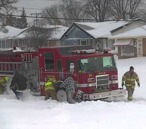 Once the bad weather starts, firefighters and EMTs need to be extra vigilant in protecting themselves on the roadways with aggressive traffic protection measures. (Photo/YouTube)