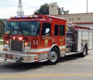 At least 16 Tulsa Fire Department trucks currently do not have functioning air conditioning systems. (Photo/YouTube)