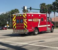 Fla. county settles lawsuit from woman dropped by paramedics