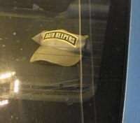 Md. officer suspended over controversial hat