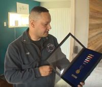 9/11 paramedic receives medal 16 years later