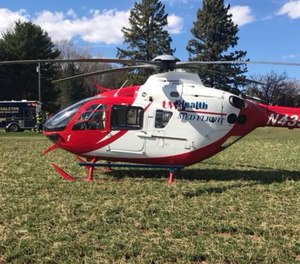 Portage becomes the third Med Flight location for UW Health. The others are in Madison and Mineral Point. (Photo/UW Med Flight)