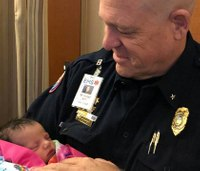 Mom names baby after paramedic who helped her during Camp fire