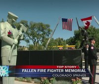 New memorial for fallen firefighters unveiled in Colo.