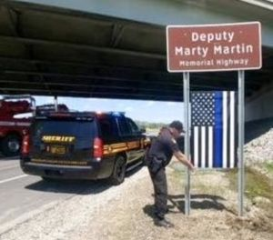 Martin, 35, was killed in 2008 in an automobile crash while working a narcotics investigation on the highway. (Photo/Franklin County Sheriff's Office)