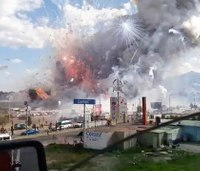 Deadly Mexico fireworks blast hit market packed for holidays