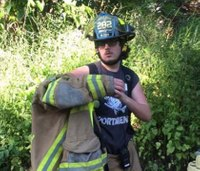 Junior firefighter, 17, killed in 2-vehicle collision