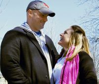 Firefighter proposes to Boston Marathon bombing survivor