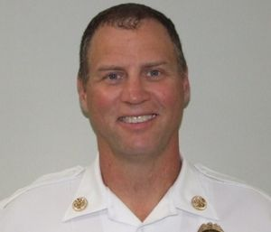 Fire Chief Mike Beyerstedt will keep his job after an internal investigation over a head-butting incident. (Photo/Gulfport Fire Dept.)