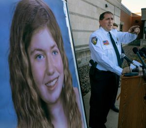 Barron County Sheriff Chris Fitzgerald speaks during a press conference about 13-year-old Jayme Closs who has been missing since her parents were found dead in their home Wednesday Oct. 17, 2018 in Barron, Wis. (Photo/AP)
