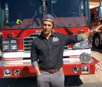 Matthew McConaughey thanks first responders in surprise visits