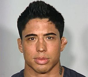 This undated photo provided by the Las Vegas Metropolitan Police Department shows Johathan Koppenhaver who appeared in UFC's Ultimate Fighter TV show in 2007. (AP Image)