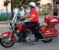 Fla. fire dept. leases motorcycles for rapid response