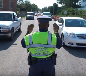 """Pictured is a screenshot from the MSP's """"Hand in Hand"""" recruitment video. (Photo/MSP)"""