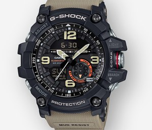 Here are four reasons why the Casio G-Shock Mudmaster GG1000-1A5 is perfectly suited for the unpredictability and intensity of life in the fire service. (Photo/G-Shock)