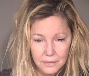 """Heather Locklear allegedly kicked an EMT after an ambulance was called due to her """"behavior and level of intoxication."""" (Photo/Ventura County Police Dept.)"""