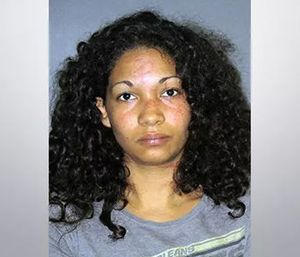 Crystal Arnold was arrested after biting, scratching and hitting an EMS crew. (Photo/EBRSO)