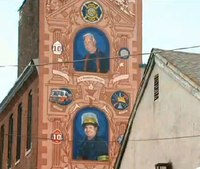 Mural honors Philly firefighters killed in warehouse blaze