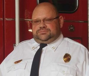 """Eric """"Bubba"""" Pennell. (Photo courtesy of Central Alexander/Taylorsville Fire Department)"""