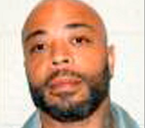Inmate Anthony Gafford. Authorities say Gafford, convicted of a 1997 Omaha slaying escaped a Lincoln work-release center six days after his victim's son was killed. The Nebraska Correctional Services Department says Gafford left the Community Corrections Center-Lincoln Saturday morning, Jan. 27, 2019, to go to work but never returned. The department's Laura Strimple said Tuesday, Jan. 29 that there's been no change in his escaped status. (The Nebraska Correctional Services Department via AP)