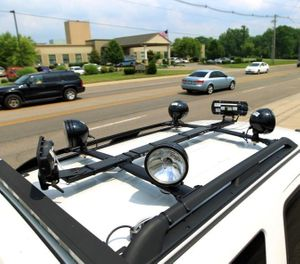 A speed-enforcement vehicle could replace traditional hand-held speed cameras.