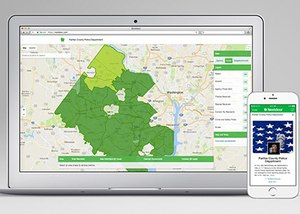 When police departments join the Nextdoor platform, they can communicate with verified residents within the geographic boundaries of their service area. (Photo/Nextdoor)