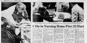 By the time firefighters put out the blaze,  nine residents were dead and 27 injured. (Photo/Philadelphia Inquirer Archives)
