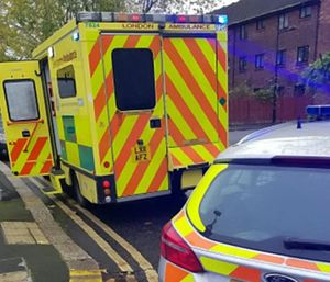 A bus driver, who was apparently angry at how they parked, allegedly pushed one paramedic and verbally abused the other. (Photo/Met Police)