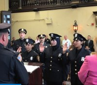 NJ PD welcomes first all-female class, first hijabi LEO