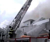 7 NJ firefighters hurt when fire rips through 8 homes