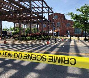 Multiple people were wounded early Sunday, June 17, 2018, when shooting broke out at the Art All Night festival in Trenton, New Jersey, early Sunday, sending people stampeding from the scene and leaving one suspect dead and at least 20 people injured, a local prosecutor said. (Paige Gross/ NJ.com/The Star-Ledger via AP)