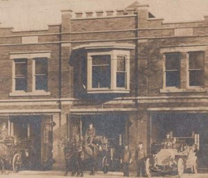 The Norwalk Fire Department at 42 Whittlesey Ave. first opened in 1912. (Photo/Firefighter Local 1199)